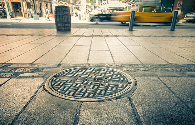 Manhole New York City
