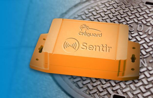 CNIguard Sentir ST3.0 manhole monitoring system
